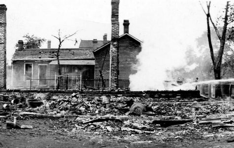 IMAGE OF 1908 SPRINGFIELD RACE RIOT AFTERMATH