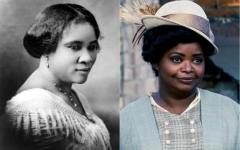 Madam C.J. Walker on left, Netflix adaptation on right