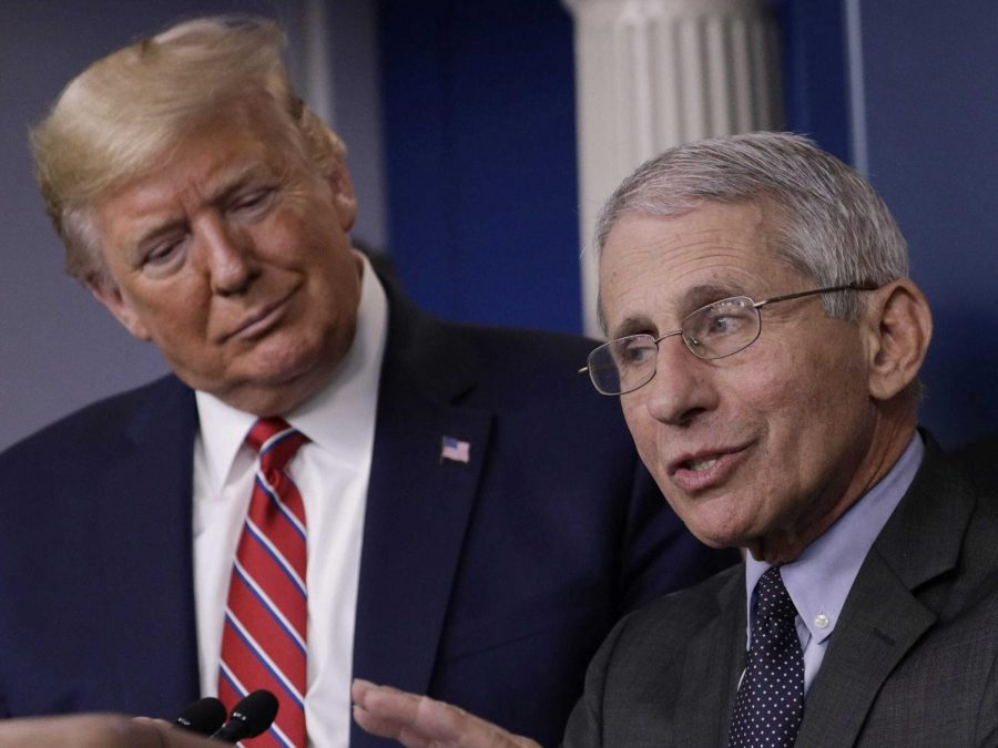 Trump and Fauci Send Mixed Messages on Coronavirus Protocol