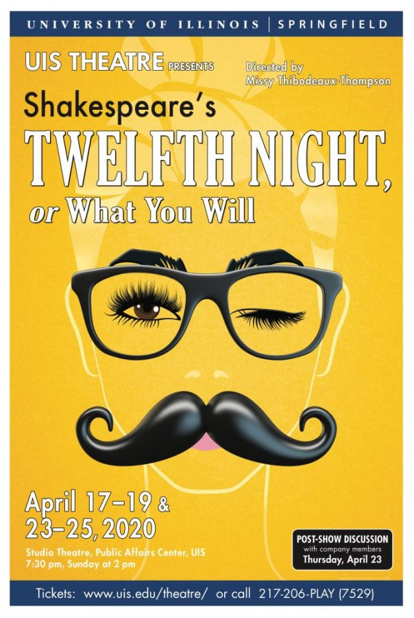 UIS Theatre Cancels Spring Performances of Twelfth Night