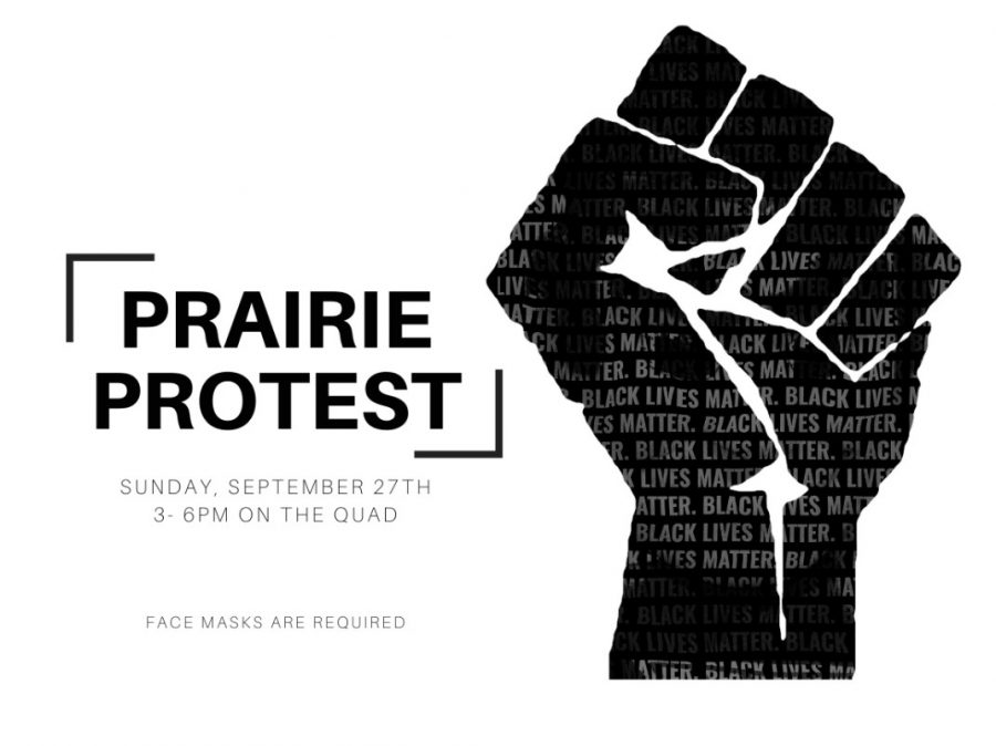PRAIRIE PROTEST SUNDAY AT 3:00 P.M.