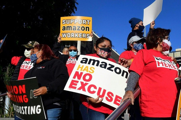 Amazon+and+Labor+Unions