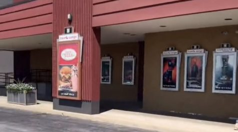 Outside the Springfield AMC 8 | Photo Credit: Cameryn Hodges